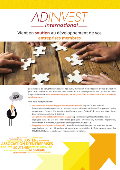 Flyer Clusters ADINVEST