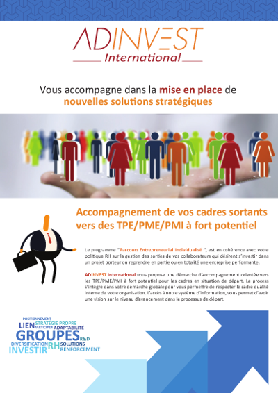 Flyer Groupes ADINVEST